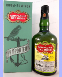 Compagnie des Indes Guyana 14 ans Single Cask