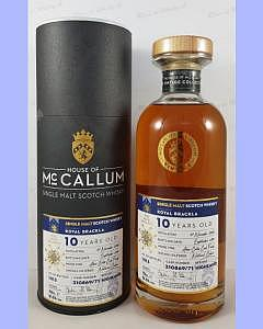 Royal Brackla 10 Year Old - Aloxe Corton Cask Finish