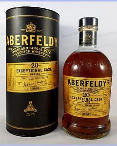 Aberfeldy 20 Year Old – Exceptional Cask Series