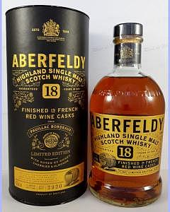 Aberfeldy 18 Year Old – Pauillac Finish