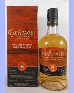 Glenallachie 8 Year Old - Koval Rye Quarter Cask Wood Finish
